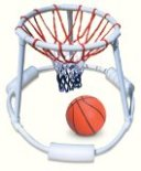 Super Hoops Floating Basketball Game