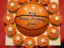 Magnificent Fun Basketball Cake Ideas Funny Birthday Cards Online Unhofree Goldxyz