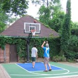 Pro Dunk Gold basketball goal