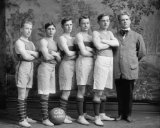 early 1900s photo GEORGETOWN BASKETBALL