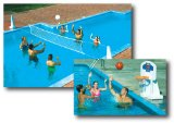 pool basketball/volleyball combo
