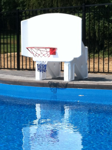 Swimming Pool Basketball Hoop