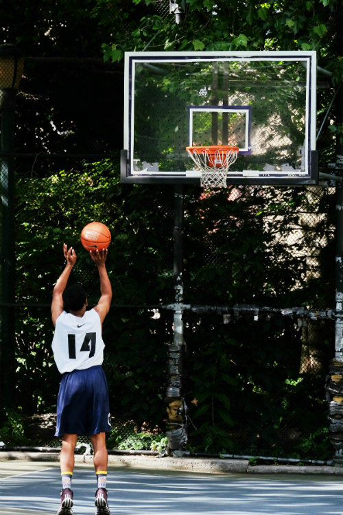 Basketball Shooting Technique: A Picture is Worth a Thousand Words