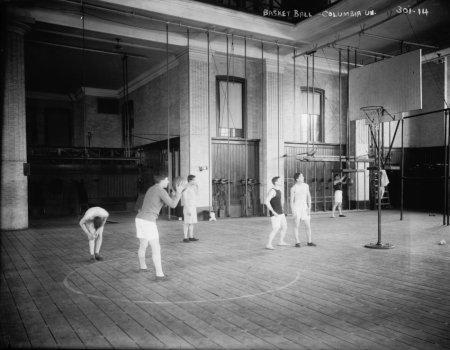 early 1900s photo Basketball, Columbia Univ.