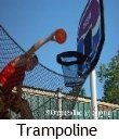 trampoline basketball
